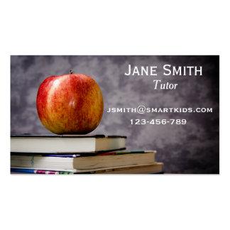 Freelance tutor or teacher for any subject pack of standard business cards
