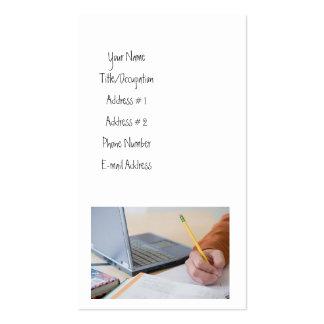 Freelance Writer Business Card Template