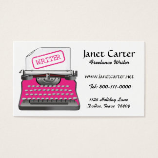 500 freelance writer business cards and freelance writer for Freelance business cards