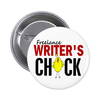 Freelance Writer's Chick Pins