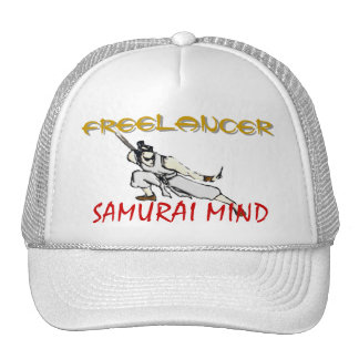FREELANCER, painted graphic Hat