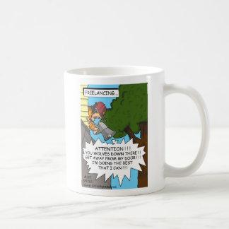 Freelancing... Basic White Mug