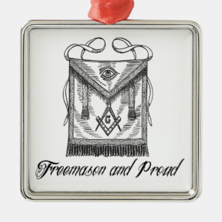 Freemason and Proud Ornament