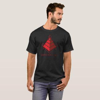 Freemason Grand Architect Red Pyramid Compass T-Shirt