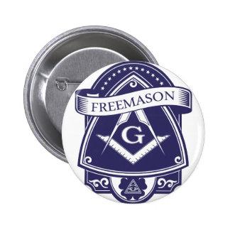 Freemason Illuninati All-seeing Eye 6 Cm Round Badge