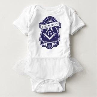 Freemason Illuninati All-seeing Eye Baby Bodysuit