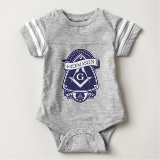 Freemason Illuninati All-seeing Eye Baby Bodysuit