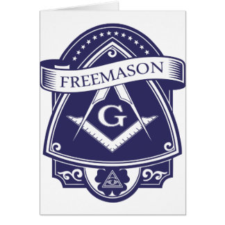 Freemason Illuninati All-seeing Eye Card
