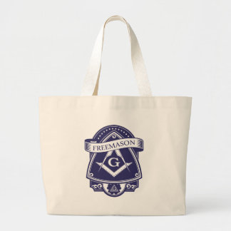 Freemason Illuninati All-seeing Eye Large Tote Bag