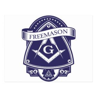 Freemason Illuninati All-seeing Eye Postcard