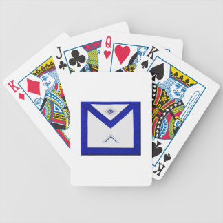 Freemason Master's Apron Bicycle Playing Cards