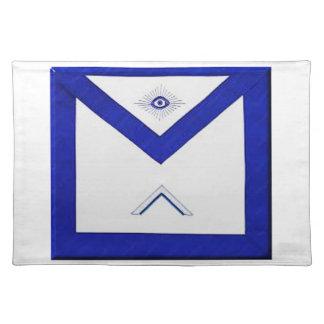 Freemason Master's Apron Placemat