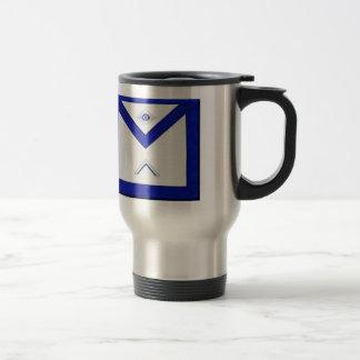 Freemason Master's Apron Travel Mug