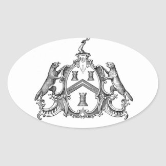 Freemason Oval Sticker