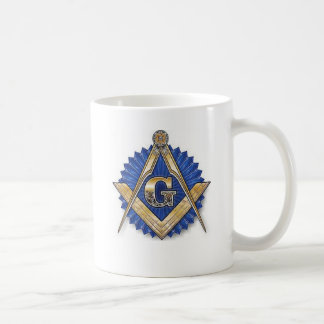 Freemason Square & Compass Mug