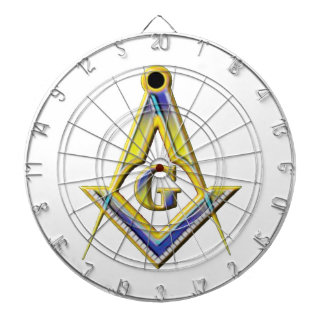 Freemason Square & Compasses Dartboard