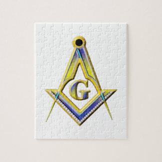 Freemason Square & Compasses Jigsaw Puzzle