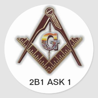 Freemason sticker