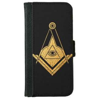 Freemason Symbol Art iPhone Wallet Case