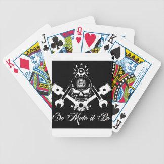 Freemason-Widows-Sons-Masonic-Hotrod-Logo-20160407 Bicycle Playing Cards