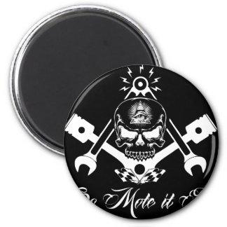 Freemason-Widows-Sons-Masonic-Hotrod-Logo-20160407 Magnet