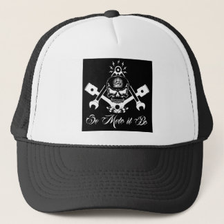 Freemason-Widows-Sons-Masonic-Hotrod-Logo-20160407 Trucker Hat