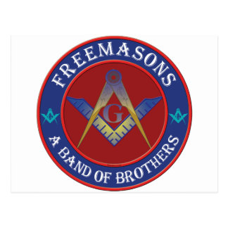 Freemasons Band Of Brothers Postcard