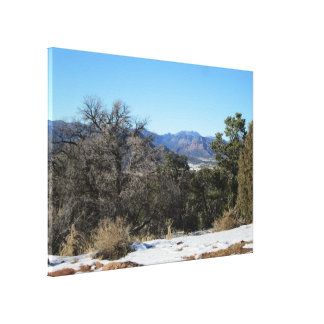 Freemont County CO Wrapped Canvas Canvas Prints