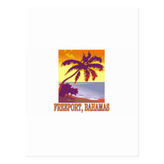 Freeport, Bahamas Postcard