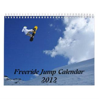 Freeride Jump Calendar 2012
