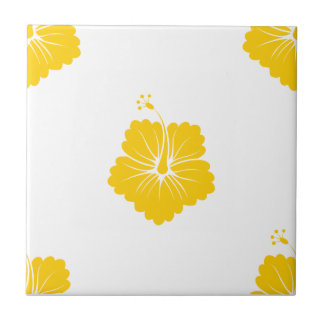 Freesia Flower Pattern 3 Ceramic Tile