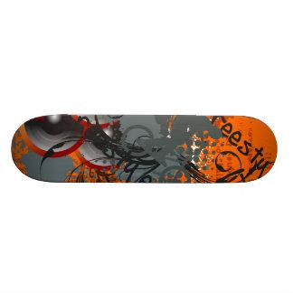 Freestyle 21.6 Cm Old School Skateboard Deck