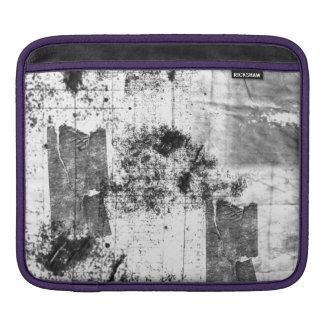 Freestyle In Black And White iPad Sleeve