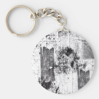 Freestyle In Black And White Keychain