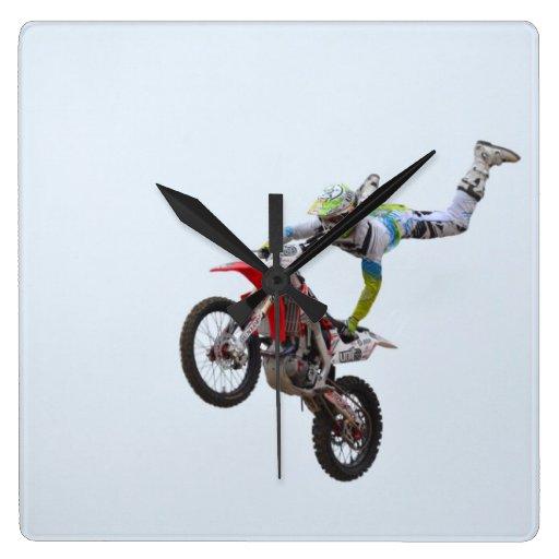 Freestyle Motocross Clock