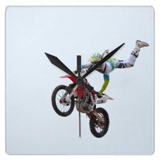 Freestyle Motocross Wallclock