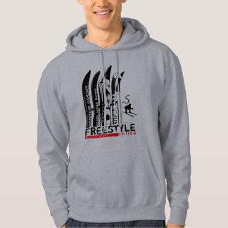 Freestyle Ski Winter Sport Sweatshirt Ski Blade