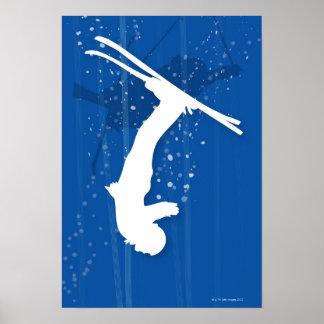 Freestyle Skier Poster