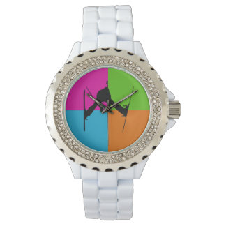 freestyle skiing wristwatch