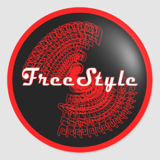 FreeStyle Sticker