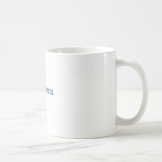 Freethinker (blue) coffee mug
