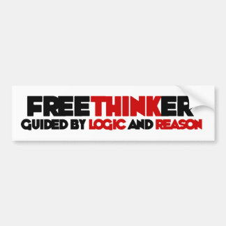 Freethinker Bumper Sticker