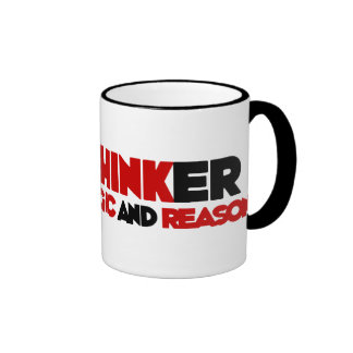 Freethinker Ringer Coffee Mug