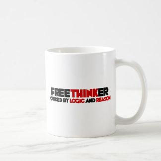 Freethinker Classic White Coffee Mug