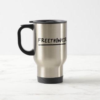 Freethinker Paintbrush Coffee Mug