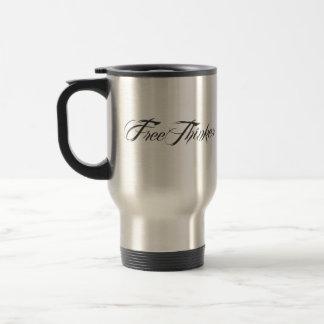 Freethinker Script Coffee Mug