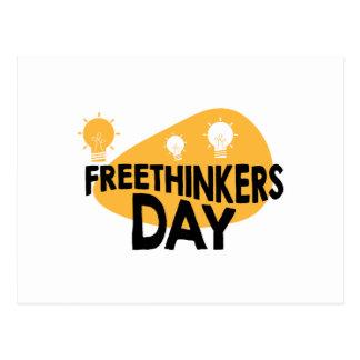 Freethinkers Day - Appreciation Day Postcard