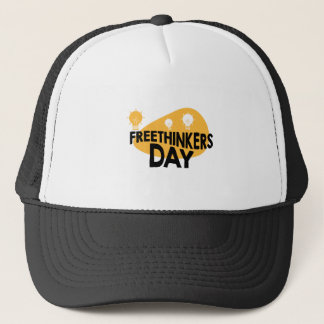 Freethinkers Day - Appreciation Day Trucker Hat