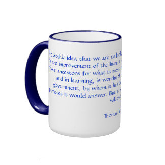 Freethinking Thomas Jefferson Ringer Coffee Mug