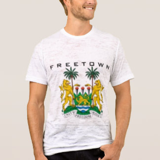 FREETOWN, (SIERRA LEONE) MAP, T-SHIRT AND ETC